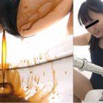 女子校生スク水ダッシュ下痢便漏らし2